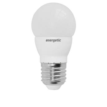 Energetic Lamp 5.6W E27 Mini Globe Frosted LED 2700k 470Lm 5152-0196-51