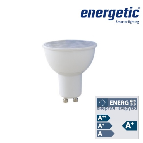 Energetic LED Lamp GU10 5.5W Dimmable LED 2700k 350Lm 5154 0164 51