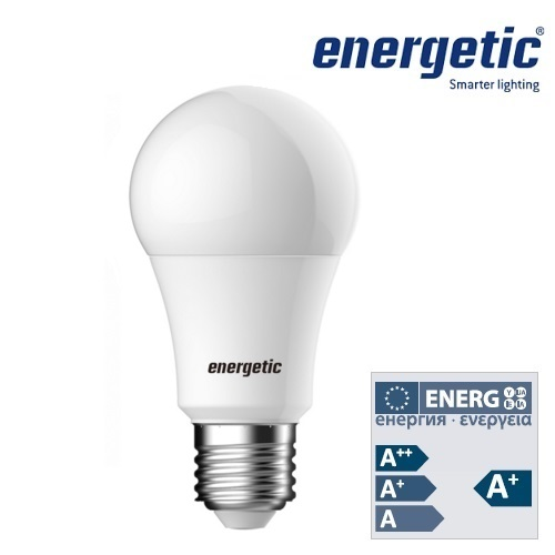Energetic Lamp LED A60 Frosted Bulb E27 6.5W Dimmable 2700K 5852 6512 51