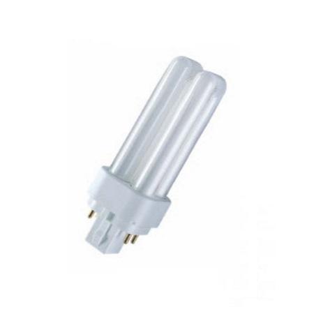10w 4 pin pl compact fluorescent lamp g24q 1 4pin 840 4000k osram. Black Bedroom Furniture Sets. Home Design Ideas