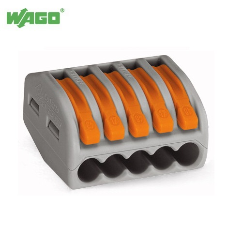 32A 5 Way WAGO Terminal Lever Splicing Connector 222-415 Wago
