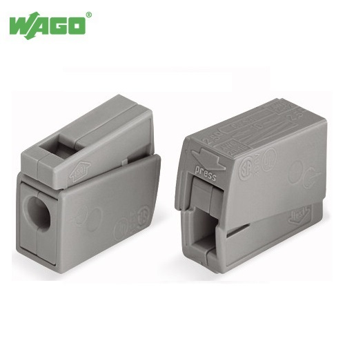 24A 2 Way WAGO Lighting Connector 0.5mm-2.5mm² 224-101 Wago