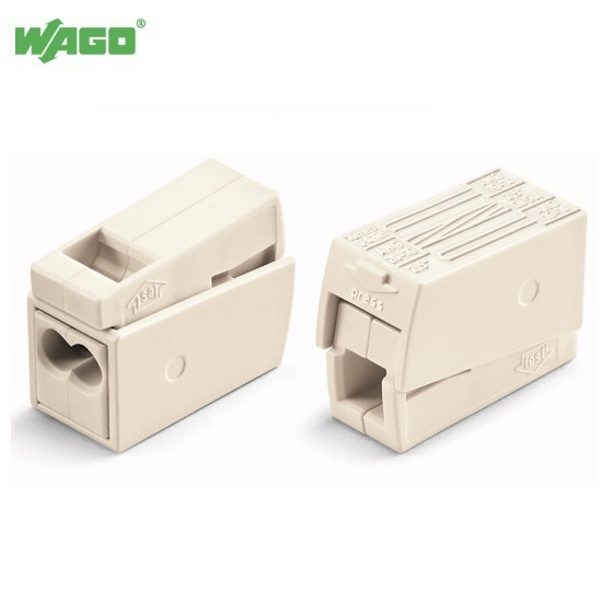 24A 3 Way WAGO Lighting Connector 0.5mm-2.5mm² 224-112 Wago