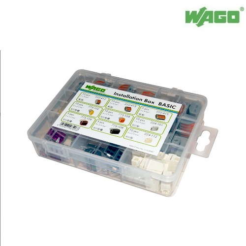 Wago Basic Installation Box 51228987 - 222,773 & 224 Series 75 Pieces