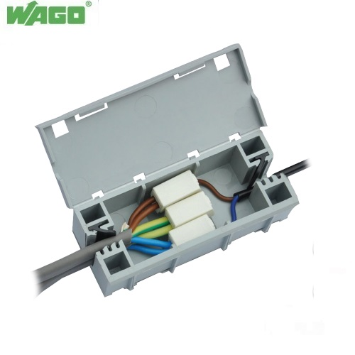 WAGOBOX 51257303 Light Multipurpose Electrical Junction Box 224 Series