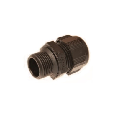 20mm Explosive Proof Gland 10-14mm Diameter 15/16mm Thread Length IP68 Polyamide Black PF8032000E