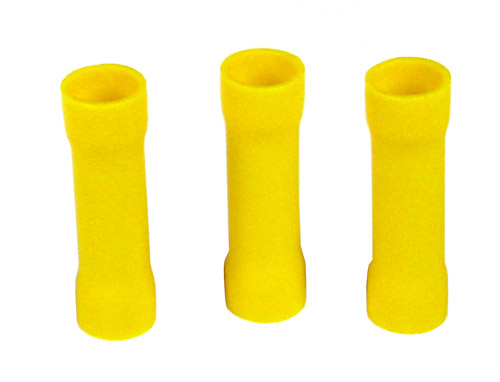 6mm Insulated Butt Connector Yellow YBC68