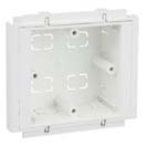 Rehau 1G Trunking Box 25mm  PVC242191