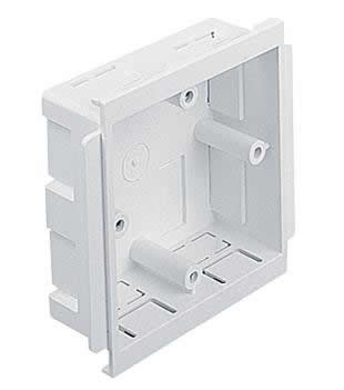 Dado Trunking 1 Gang Box   PVCESSB1