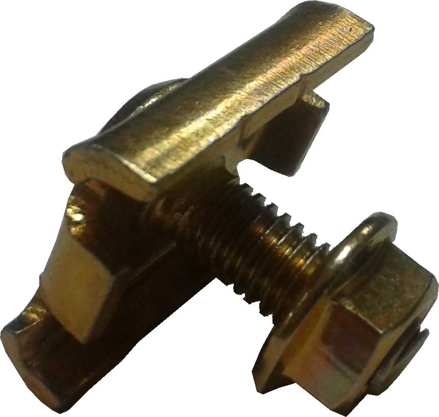 Cable Basket Coupler Nut & Bolt CBUC