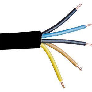 5 x 6mm NYY-J Industrial Electrical Cable (Per 1mtr) 56NYYJ