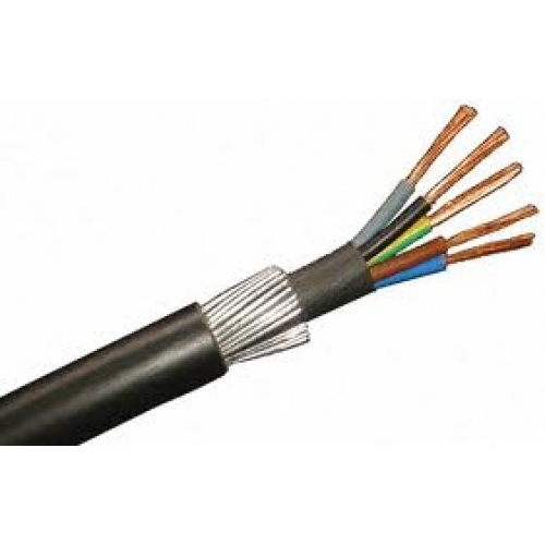 5 x 2.5mm SWA Armoured Cable (Per 1mtr) 525SWA
