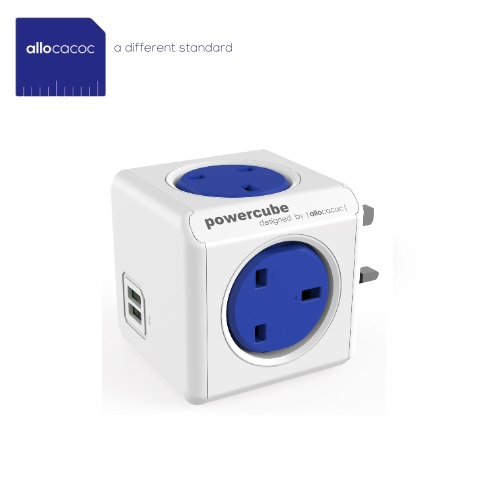 PowerCube Original USB (UK Blue) 7200/BL/UKOUPC