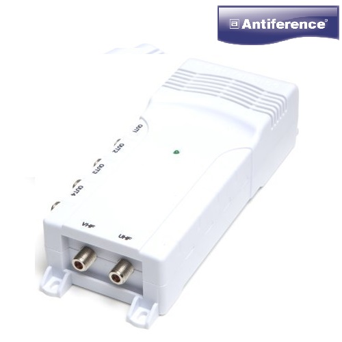 Antiference DA240LTE 4 Way TV Amplifier With Sky Bypass (F-Type) 75 Series
