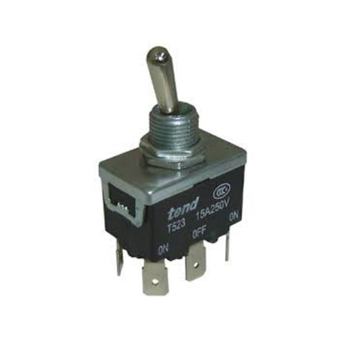 Metal Toggle Switch T523A On/Off/On 15A/250V DPDT DPDT