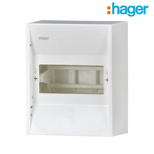 5 module mini enclosure hager gd106n online electrical. Black Bedroom Furniture Sets. Home Design Ideas