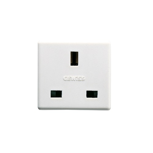 1 Gang Waterproof Socket 13 Amp Gewiss GW20208