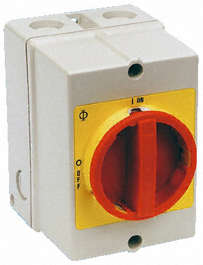 3 Pole 40A Isolator-largein Enclosure Kraus & Naimer KG41T203IRL300