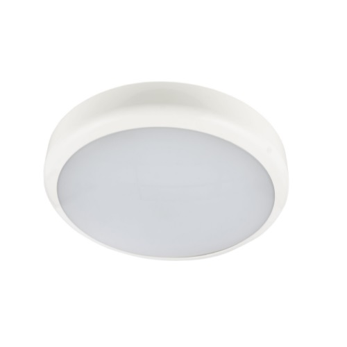 14W LED Shallow 2D Bulkhead Slimline 1200 Ln Wall/Ceiling Mounted Electralite ELA-28101