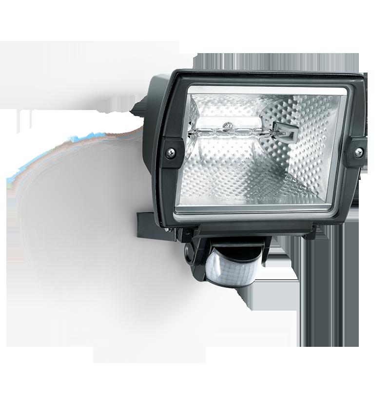 Steinel 500W 140 Degree 12m Halogen Sensor Switched Outdoor Flood Light BLAC