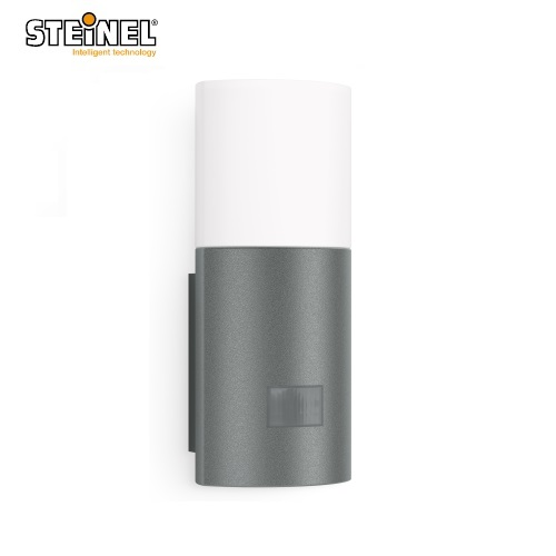 Steinel L900 LED Uplight 7W Anthracite Passive Infrared 180° IP44 Slim & Efficient L900LED