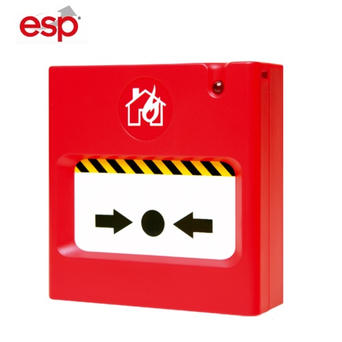 SCP2-R Fire Alarm Break Glass Unit Resettable Call Point ESPSCP2-R