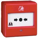 Menvier MBG914 Surface Call Point RED With Backbox For Menvier Systems | MBG914