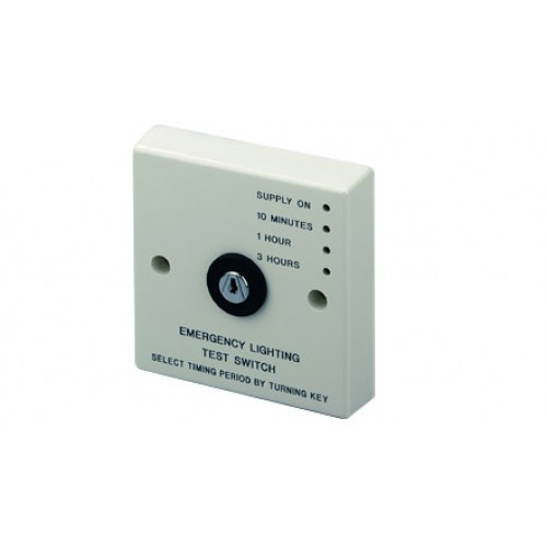 Emergency light test switch ELT10