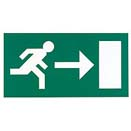 Exit exit arrow left or right legend LUCALR