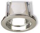 Satin Chrome Downlight Ring AULPF680SN