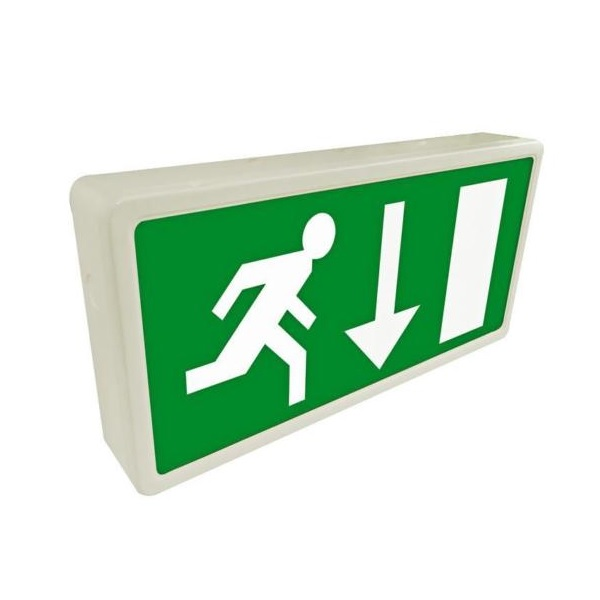 Eterna Maintained LED Emergency Exit Box Sign EXIT3MLED