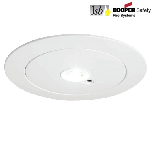 Cooper JSB LED Recessed Emergency Light 3 Hour Non Maintained HPLED3H HPLED3H