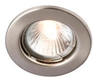 GU10 Downlight Spring Loaded Enclosure-Straight White Robus