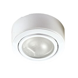 White 12v Cabinet downlighter  D043