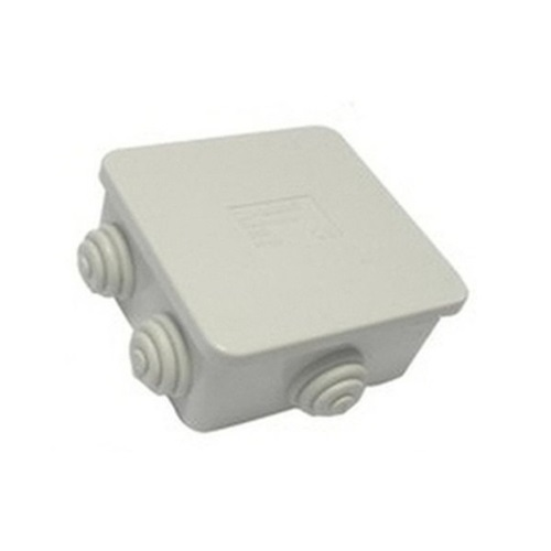 Marlanvil Junction Box 100 x 100 x 50mm 6 Openings IP65 005
