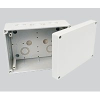 Kopos KSK 175 Junction Box IP66 175mm x 125mm x 87mm Grey RAL 7035 - KSK175