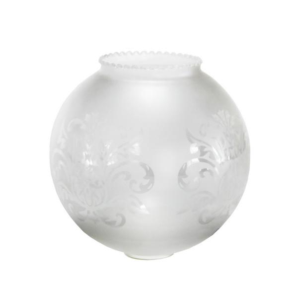 frilled victorian globe glass shade online electrical. Black Bedroom Furniture Sets. Home Design Ideas