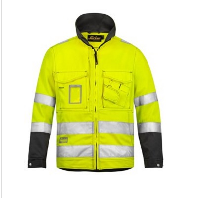 Snickers 1633 Hi-Vis Jacket YELLOW Safety Jacket
