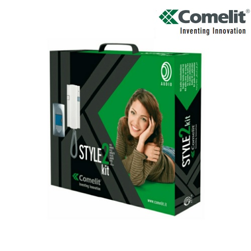 Comelit 8270 Style 2 Kit Door Entry System 1 Way 2 Wire Intercom