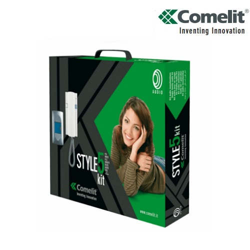 Comelit 8271 Style 5 Kit Door Entry System 1 Way 5 Wire Intercom