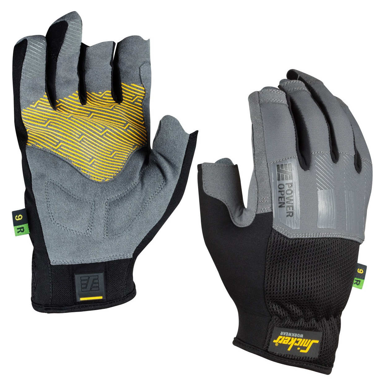 Snickers Power Open Glove | Right Hand | Size - 9 9532-9