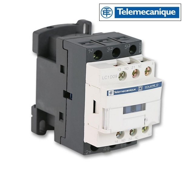 9A 220v Contactor 1 Normally Open / 1 Normally Closed LC1D09P7 Telemecanique LC1D09P7