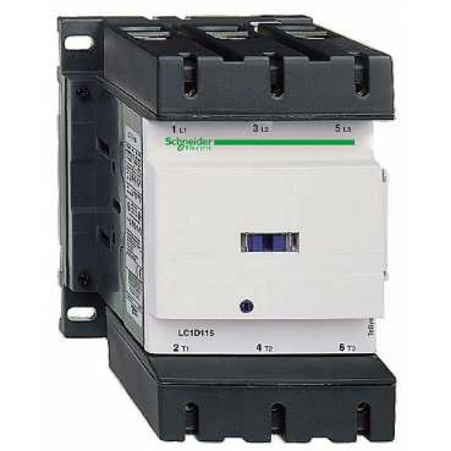 150A 400v Contactor 1 Normally Open 1 Normally Closed LC1D150V7 Telemecanique LC1D150V7