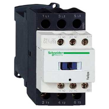 38A 24v Contactor 1 Normally Open 1 Normally Closed LC1D38B7 Telemecanique LC1D38B7