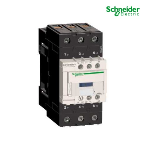 40A 230v Contactor 1 Normally Open 1 Normally Closed LC1D40AP7 Telemecanique LC1D40AP7