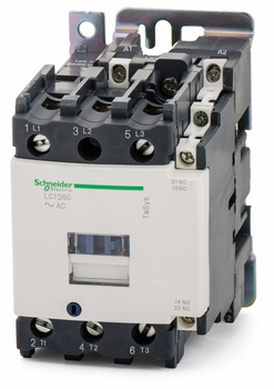 50A 24v Contactor 1 Normally Open / 1 Normally Closed LC1D50B7 Telemecanique LC1D50B7