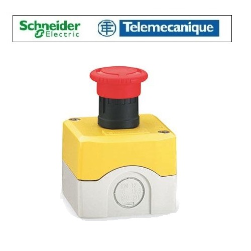Telemecanique XALK178 Emergency Stop Button Turn To Release Surface Mounted