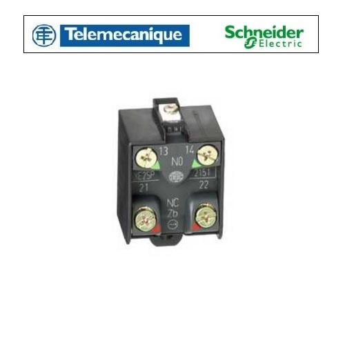 Telemecanique XE2SP2151 Contact Block For Limit Switch 1NC+1NO - Snap Action