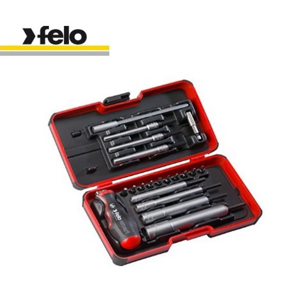 Felo Smart Engineer Set 20 Pieces M-TEC (Slot, Phillips, Pozidriv, Torx®, Nut Driver) | 060 820 06