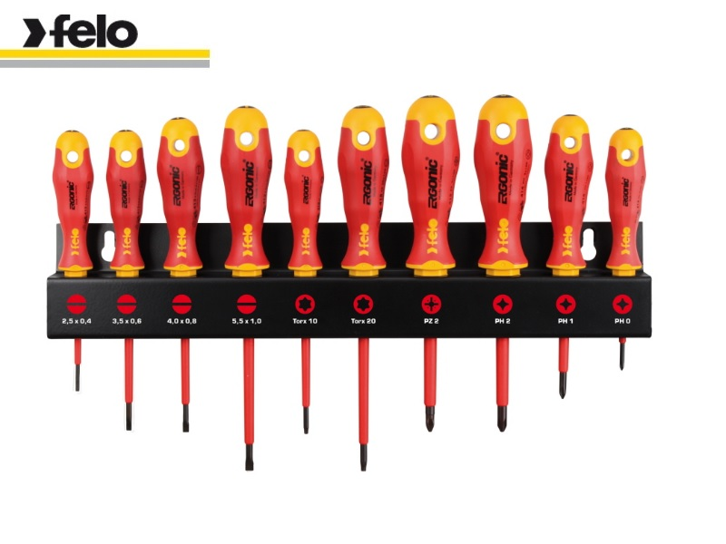 Felo Ergonic XL-Rack 10-Piece Set VDE 414 910 93